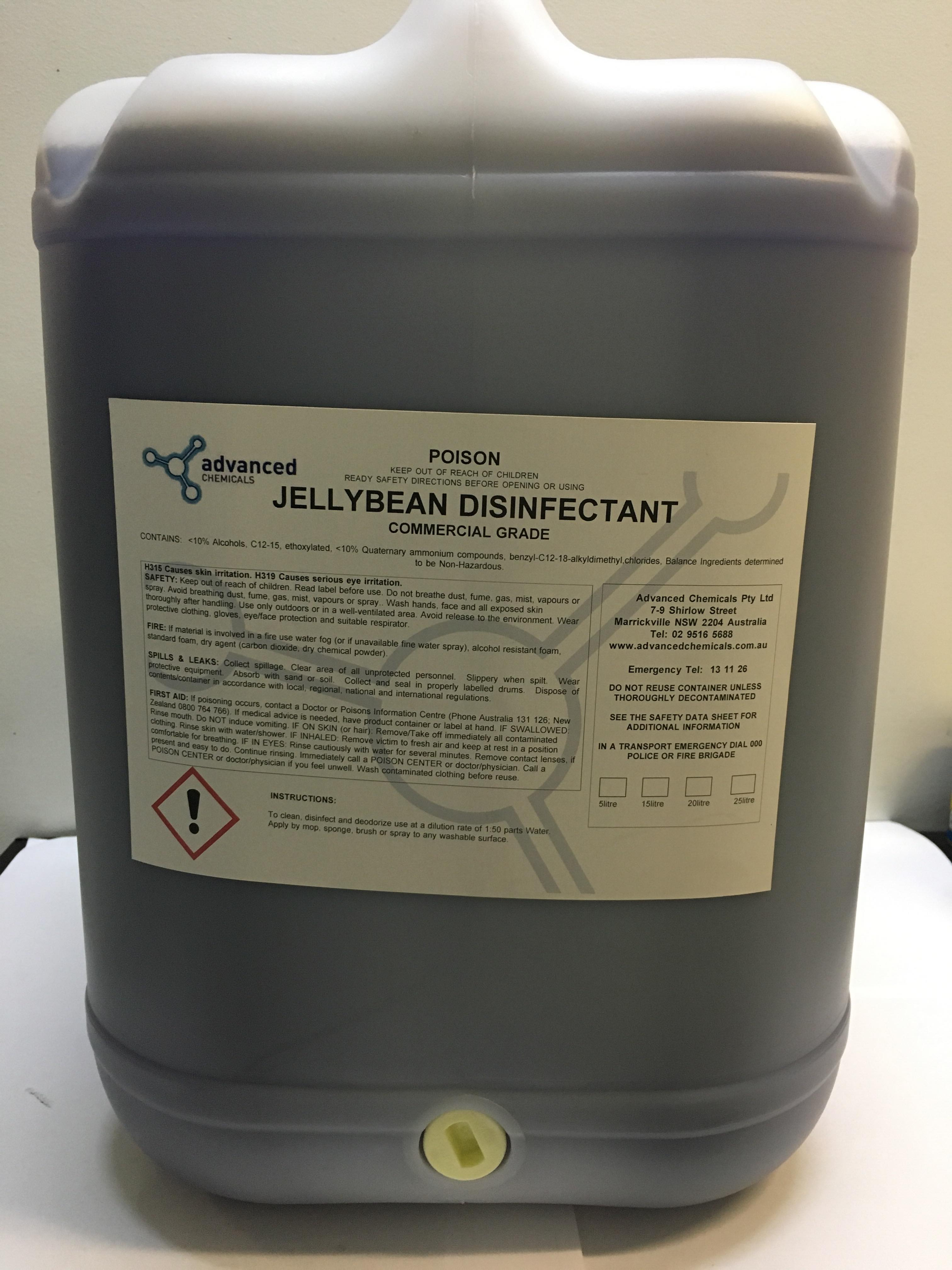 Jellybean Disinfectant 25L