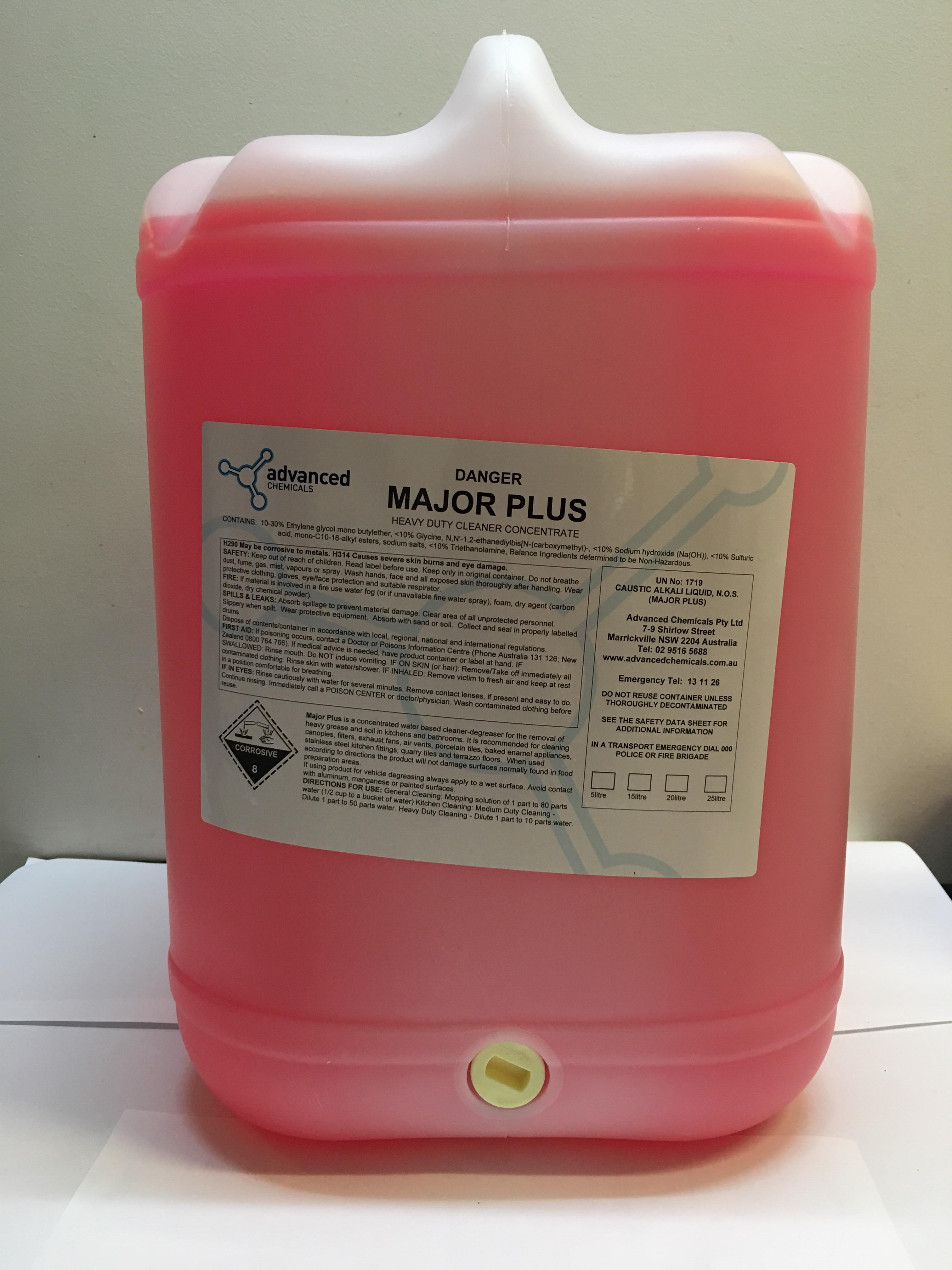 Advanced Chemicals - Major Plus 25L