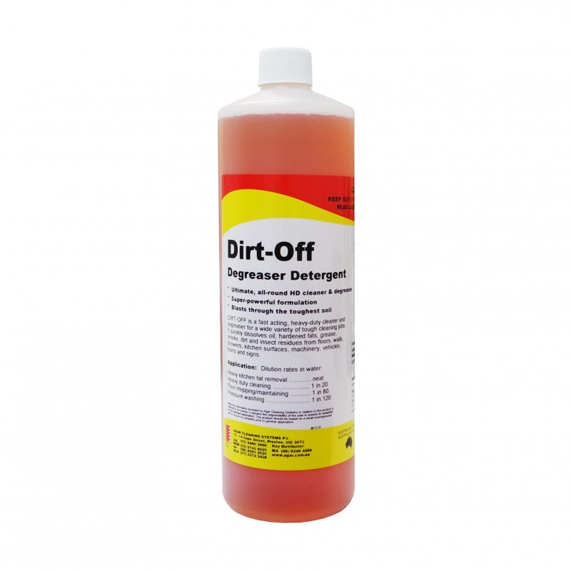 Agar Dirt-Off Degreaser Detergent 1L