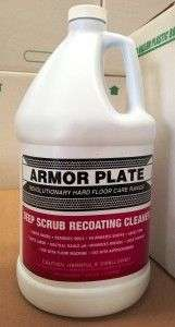Armor Plate Deep Scrub Recoating Cleaner 1gal