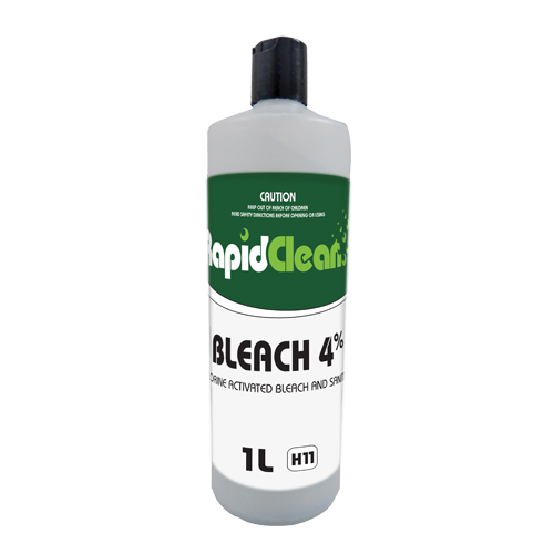 Bleach 4% Bottle 1L