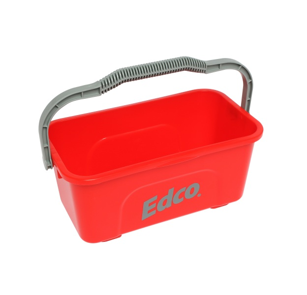 11L Red Window Bucket