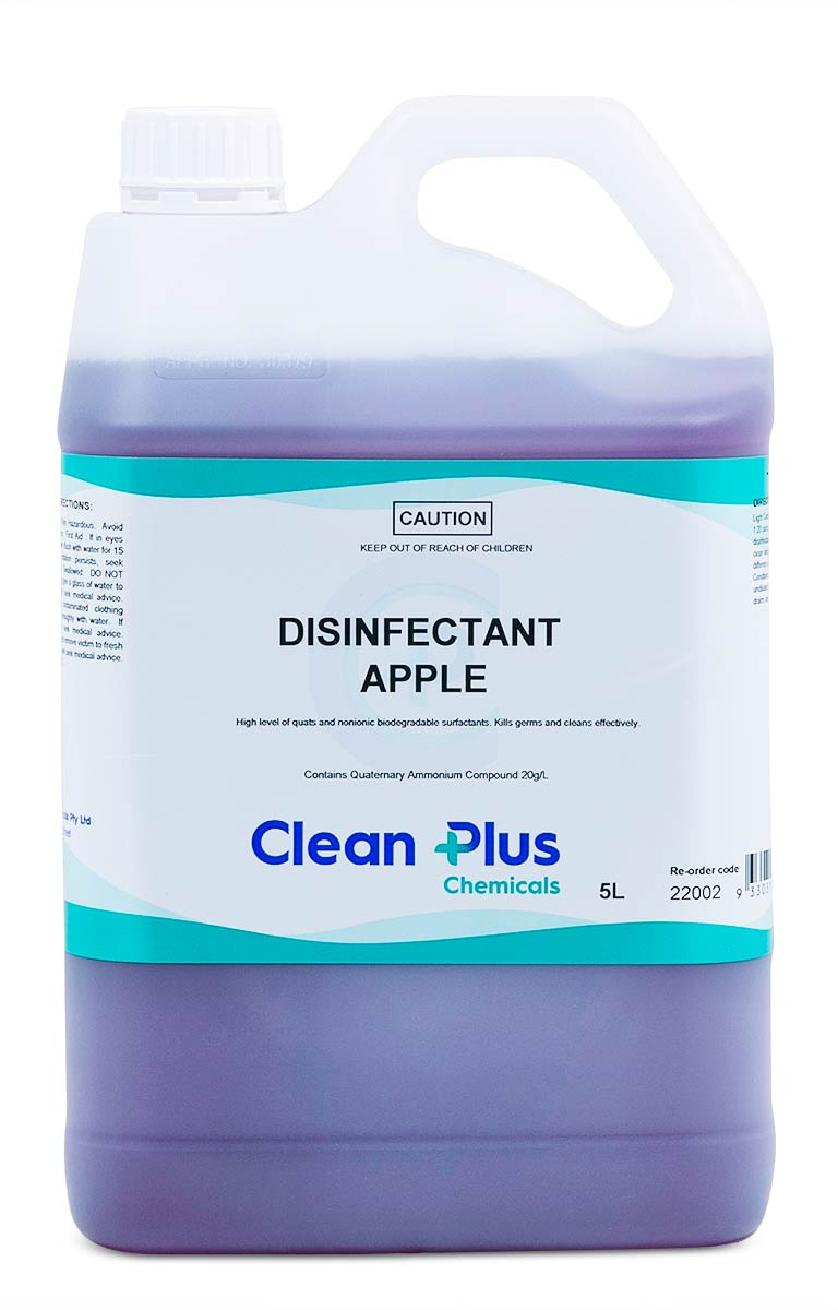 Clean Plus Disinfectant Apple 5L
