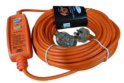 CLEANSTAR 20m Extension Lead with In-Line RCD
