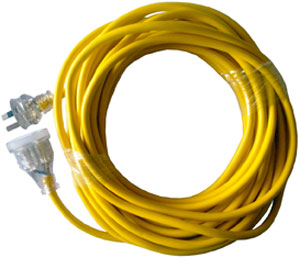 CLEANSTAR 25m 10 Amp Yellow Extension Lead
