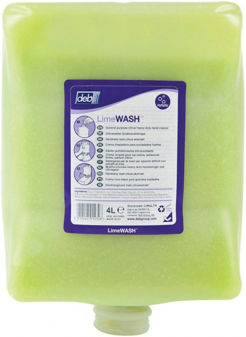 DEB LIME WASH 4L 4PODS/CTN
