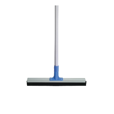 Oates 450mm Aluminium Backed Squeegee w/ Handle - Blue