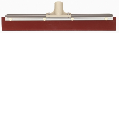 Oates 450mm Red Rubber Aluminium Squeegee