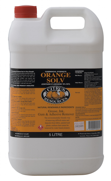 ORANGE SOLV 5LT