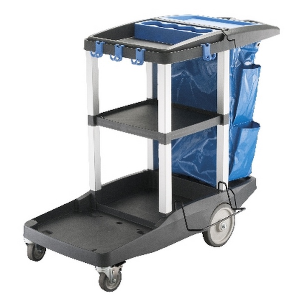 PLATINUM JANITORS CART