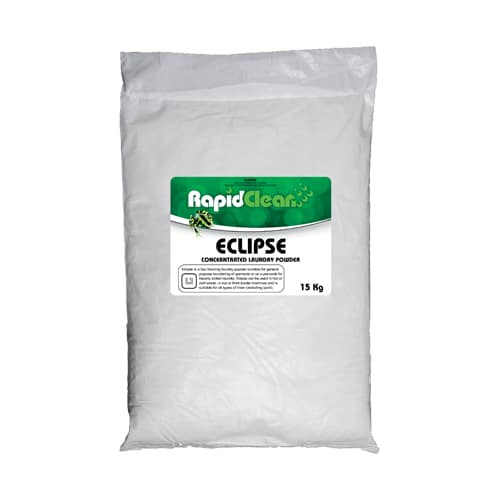 RapidClean Eclipse Concentrated Laundry Powder 15kg