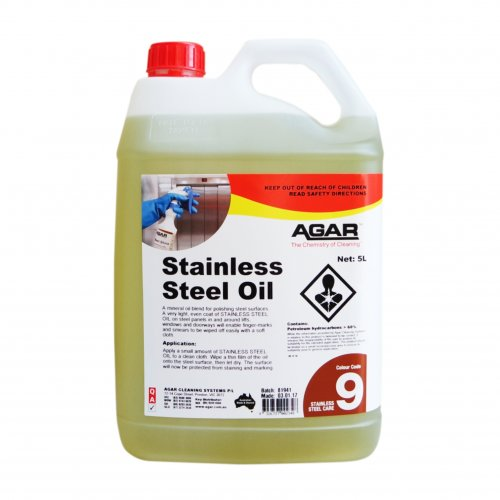 Stainless Steel Oil 5L